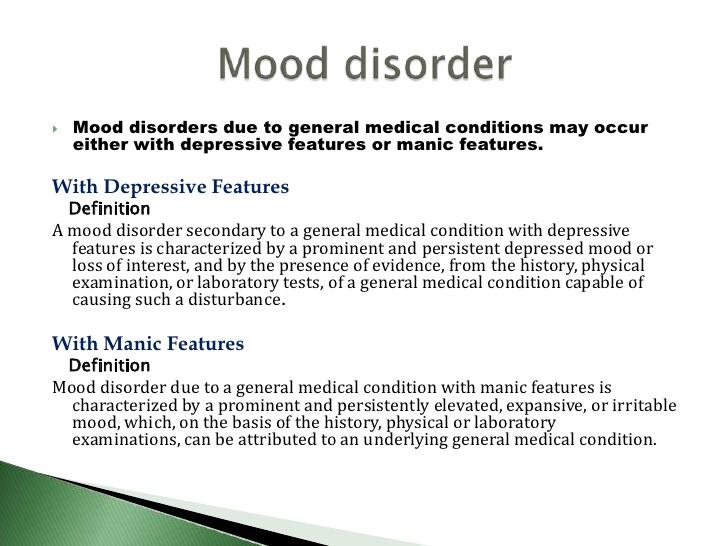 Disorder Medical Definition