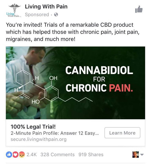 How To Advertise A Cbd Oil Webpage