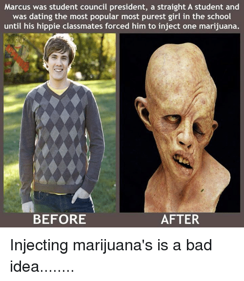 Injected Marijuana