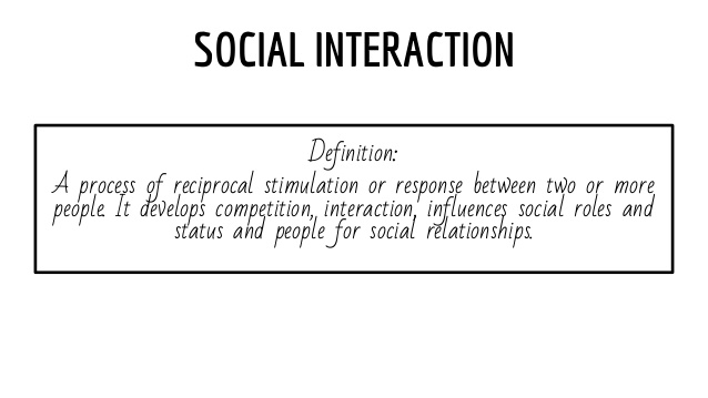 Interaction Definition Psychology