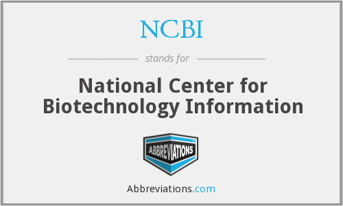What Does Ncbi Stand For