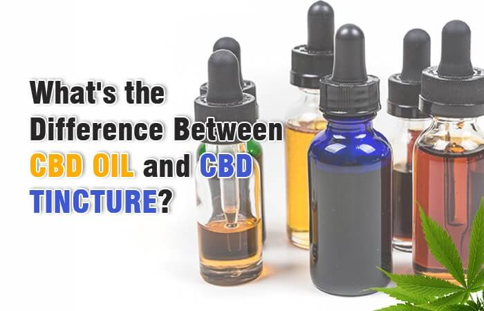What Is The Difference Between Cbd Tincture And Cbd Oil