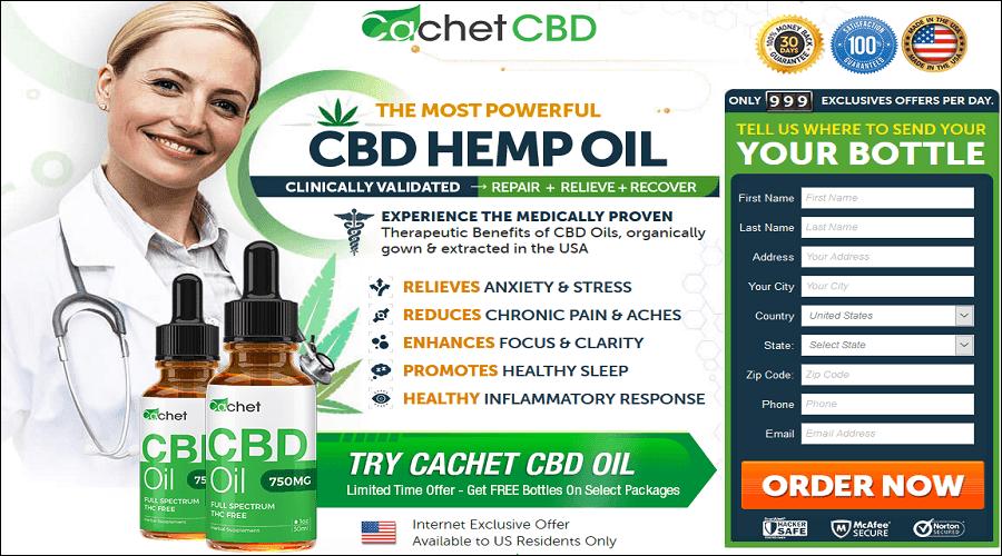 Cachet Pure Cbd Oil