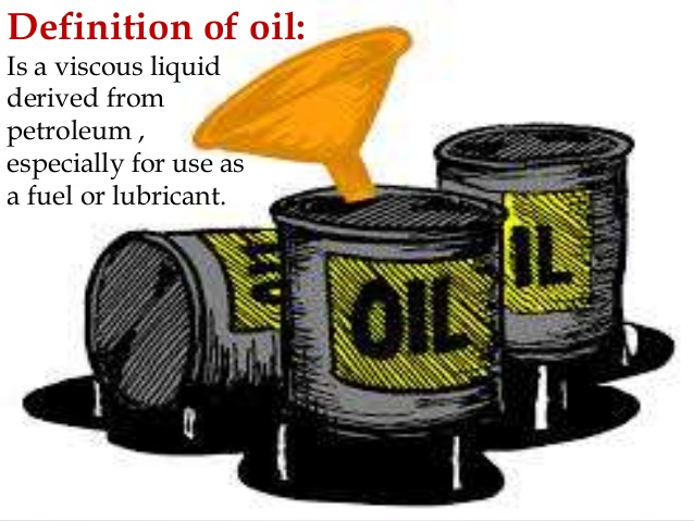 Definition Of Oil